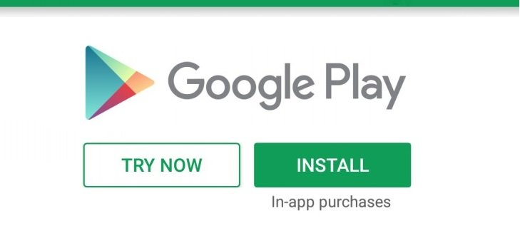 Google Play - Try now