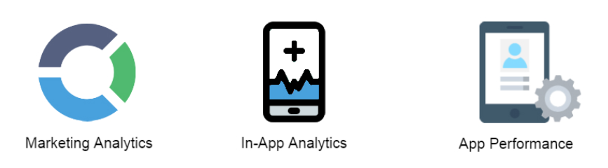 three types of app analytics