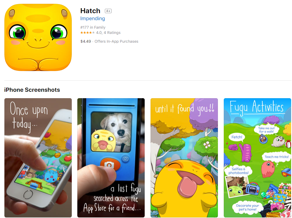 Hatch on App Store