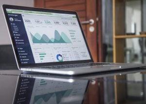 App Analytics Laptop