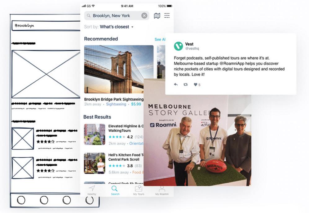 Roamni design app