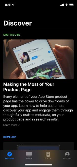 Mobile App For Developers