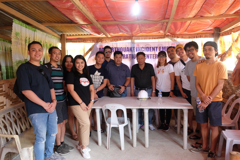 Appetiser App Development team with Padada government officials