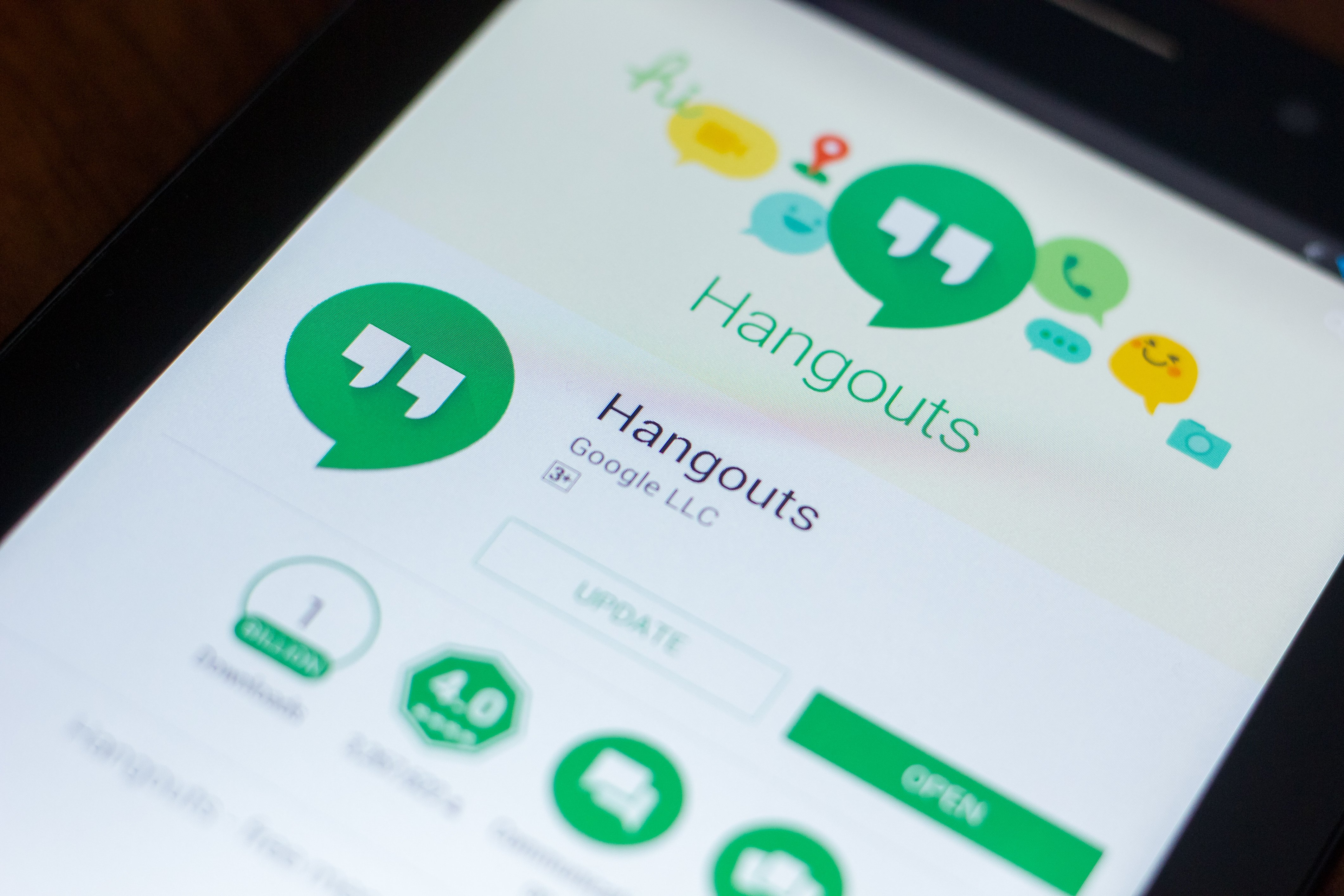 The classic Hangouts gets buried in the Google Graveyard in June. Image credit to: sharafmaksumov - stock.adobe.com.